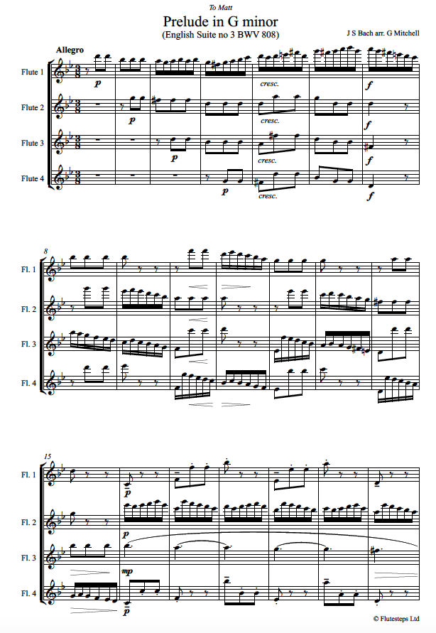 Bach Front Page